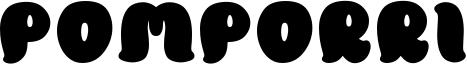 Pomporri Font