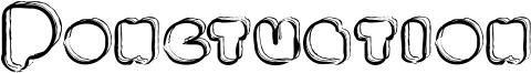 Ponctuation Font