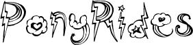 PonyRides Font