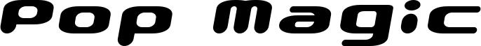 Pop Magic Font
