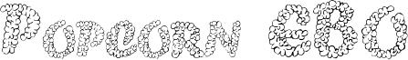 Popcorn EBO Font