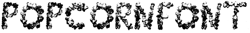 PopCornFont Font