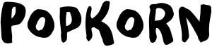 Popkorn Font