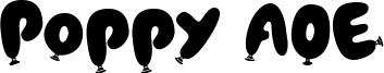 Poppy AOE Font