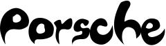 Porsche Font