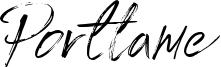 Portlame Font