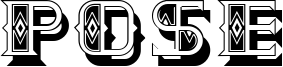 Pose Font