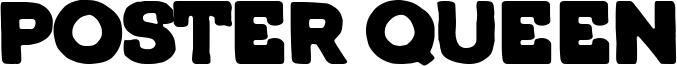 Poster Queen Font