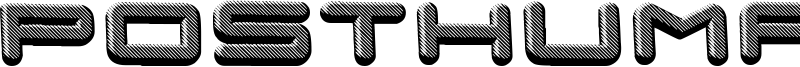 Posthuman Font