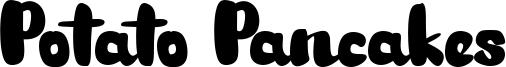 Potato Pancakes Font