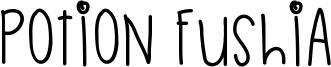 Potion Fushia Font