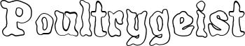Poultrygeist Font