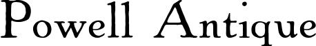 Powell Antique Font