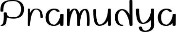 Pramudya Font