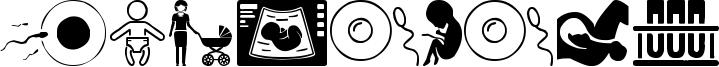 Pregnancy Font