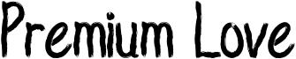 Premium Love Font