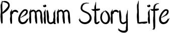 Premium Story Life Font