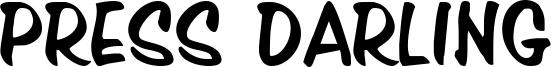 Press Darling Font