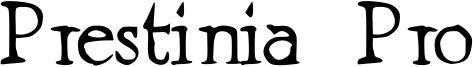 Prestinia Pro Font