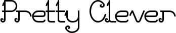 Pretty Clever Font