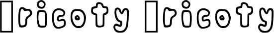 Pricoty Pricoty Font