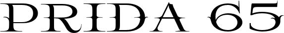 Prida 65 Font