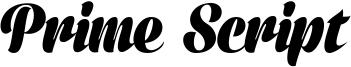 Prime Script Font