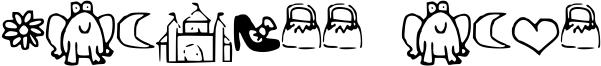 Princess Dings Font