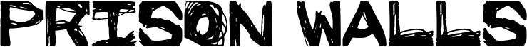 Prison Walls Font