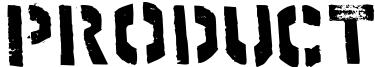 Product Font