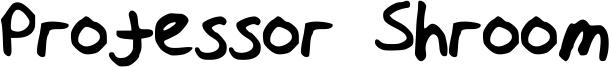 Professor Shroom Font