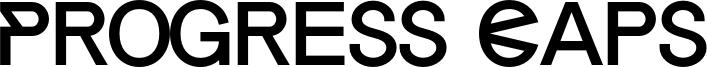 Progress Caps Font