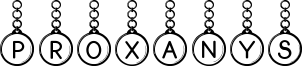 Proxanys Font