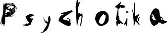 Psychotika Font