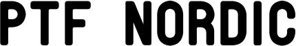 PTF Nordic Font
