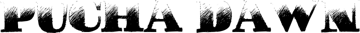 Pucha Dawn Font