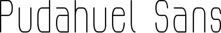 Pudahuel Sans Font