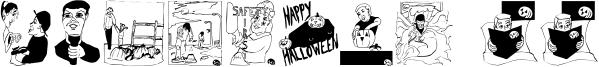 Pumpkins 2006 Font