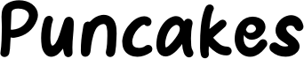 Puncakes Font