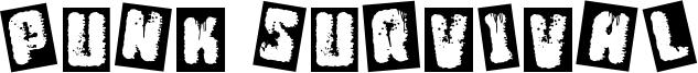 Punk Survival Font