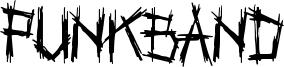 Punkband Font