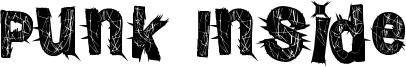 Punk Inside Font