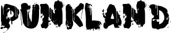 PunkLand Font