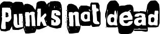 Punk's not dead Font