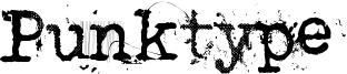 Punktype Font
