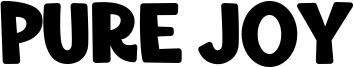 Pure Joy Font