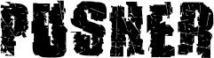 Pusher Font