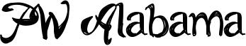 PW Alabama Font