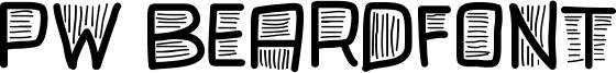 PW Beardfont Font