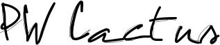 PW Cactus Font
